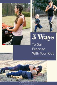 9ea0598d87 5 Ways To Get Exercise With Your Kids - Tips for Moms  ad  motherhood