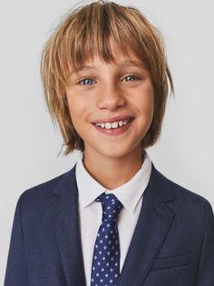 TAILORING-NIÑO | 6-14 años-NIÑOS | ZARA España Zara Fashion, Kids Fashion, New Kids, Kids Boys, Cute Blonde Boys, Romanov Sisters, Zara Spain, Zara Boys, Knit Blazer