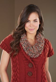Knit this cowl using Premier City Life yarn.