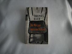 163) Buch: Der Metzger muss nachsitzen - KRIMI, Preis 8€