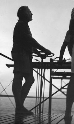 Profile of Ernest Hemingway Aboard his Boat, Pilar - John F. Kennedy Presidential Library & Museum