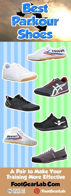 Best Parkour Shoes: A Pair to Make Your Training More Effective - @footgearlab #BestParkourShoes #ParkourShoes #Parkour
