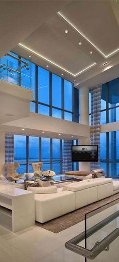 gorgeous modern living room