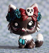 Cute Flower Kitty Cat ( Piaslittlecustoms OC) Littlest Pet Shop LPS custom