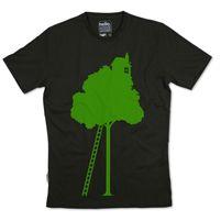 Silverstick Men Organic Cotton Treehouse Olive T Shirt