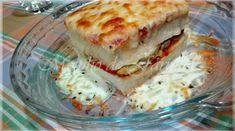 Moinho De Farinha: Tosta de frango (assado) e cogumelos