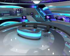 3d Virtual Studio Design Render . on Behance