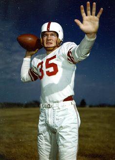 Billy Vessels Oklahoma Sooners Heisman Winner 1952
