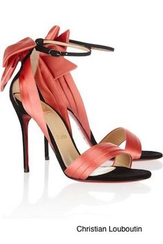 Christian Laboutin. These are timeless.