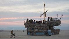 Anastraca Burning Man Art Cars 2014 Alan Grinberg