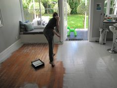 """White floorboards  """"I want to do this, but not too sure ;-/"""