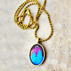 Unisex Mountain High Necklace by Ever So Lovely® Inc.