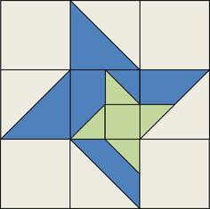 Little Bunny Quilts: QCQAL Block #15 -- Friendship Star