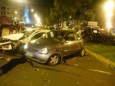 #News  Quadrilha bate em veículos durante perseguição da PM em Uberlândia