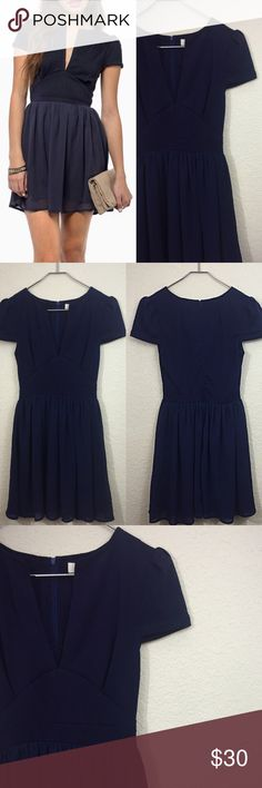 Tobi dress New navy Tobi dress size small $58 Tobi Dresses