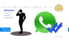 WhatsApp: arriva la doppia spunta blu