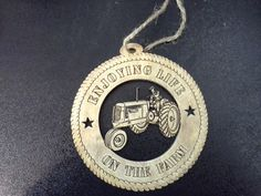 This custom ornament is great for any farmer or collector to hang all year long! Create your own quote or use as is, or add a personal touch by adding the name of the receiver. This gift will be cherished for years to come. CLICK TO BUY NOW FOR $ 9.95 FREE SHIPPING!