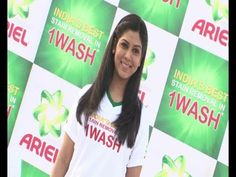 Sakshi Tanwar at Ariel attempt for a Guinness World Record.