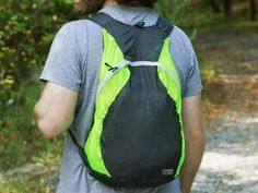 These collapsible backpacks, discovered by The Grommet, weigh in at just under three ounces and are made to last.
