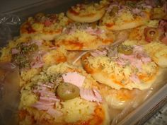 MINI PIZZA - Culinária-Receitas - Mauro Rebelo