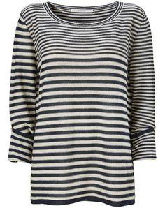 Tabitha stribet strik sweater