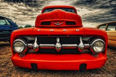 Red Hot Classic 1952 Ford F-1