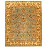 Found it at Wayfair - Heritage Blue/Gold Area Rug - 9.6 x 13.6 733