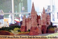 Harry Potter Image Gallery :: SnitchSeeker.com - OotP in the media/Hogwarts cake