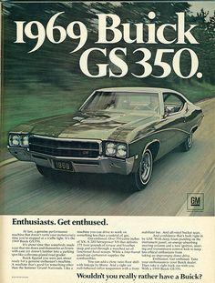 1969 Buick GS350 Hardtop, AKA my car lol