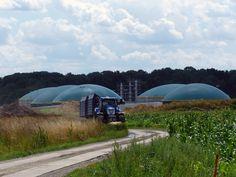 UDI Biogasanlage Raitzen in Betrieb