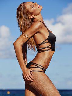 Candice Swanepoel for Victoria's Secret Swim 2014