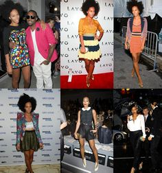 this is someone whose style i like a lot...Solange...not everything she does is a win, but she's funky & eclectic
