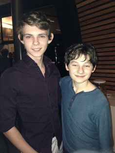 "Jared Gilmore on Twitter: My and the Amazing @RobbieKay_ AKA ""PeterPan"""