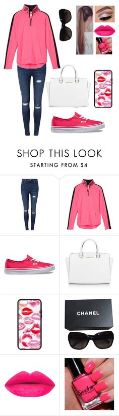 """""""I want to be your favorite hello and your hardest goodbye."""" by blessed-with-beauty-and-rage ❤ liked on Polyvore featuring Miss Selfridge, Victoria's Secret, Vans, Michael Kors, Chanel, women's clothing, women, female, woman and misses"""