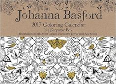 Johann Basford Colouring Calendar 2017. Review is here - http://colouringreviews.blogspot.co.nz/2016/12/365-days-to-colour.html
