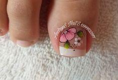 Toe Nail Designs, Gorgeous Nails, Toe Nails, Pedicure, Nailart, Finger, Gemstone Rings, Irene, Elegant Nails
