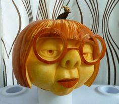 If it's still true that you think or intend to cook the pumpkin afterward, I advise using the acrylic since the chemicals aren't going to leach in the pumpkin itself. So you can now decorate the pumpkin. Since the pumpkin… Continue Reading → Pumpking Carving, Disney Pumpkin Carving, Halloween Pumpkin Carving Stencils, Halloween Pumpkin Designs, Amazing Pumpkin Carving, Pumpkin Art, Pumpkin Faces, Halloween Cupcakes, Halloween Pumpkins