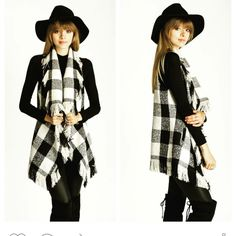 Adorable black and cream check vest. | Shop this product here: http://spreesy.com/lovelilacruby/22 | Shop all of our products at http://spreesy.com/lovelilacruby    | Pinterest selling powered by Spreesy.com