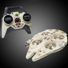 Star Wars Millennium Falcon Quad by Air Hogs #Cool, #Joystick, #StarWars