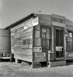 Dorothea Lange:: Good Coffee: 1937