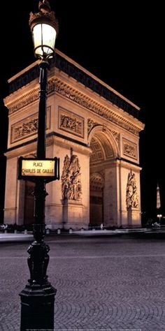 A notable landmark in Paris, the Arc de Triomphe stands at the west end of the Champs-Élysées, construction began August 15,1806 -Inaugurated July 29 1836 honors those who fought in French Revolution and Napoleonic wars. Beneath lies the Tomb of the Unknown Solider from World War I. Beautifully designed by Jean Chalgrin.
