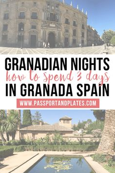 Planning a trip to Granada, Spain? Check out this guide on what to get up to with 3 days in Granada! | Granada | Spain | Granada Travel | One day in Granada | Granada in 3 days | Granada Travel Guide | Things to do in Granada | Granada for first timers | Granada for the first time | Granada for first time visitors | First time in Granada| what to do in Granada | best things to do in Granada