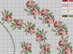 Mantel de rosas