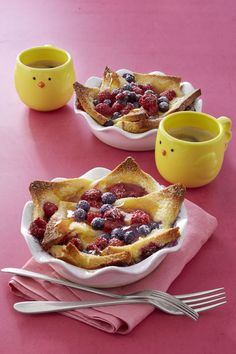 French Toast Bowls