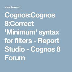 Ibm Cognos 10 Report Studio Practical Examples Pdf