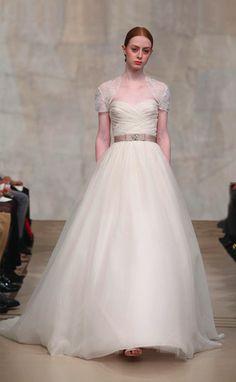 Reem-Acra-Orchid-wedding-gown    Fall 2010 (no shrug)