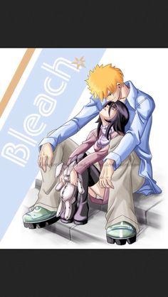 Bleach Ichigo 54 (Rukia) - IchiRuki - Keeping You Close by LadyShieru Bleach Ichigo And Rukia, Bleach Manga, Kuchiki Rukia, Otaku, Bleach Couples, This Kind Of Love, Bleach Tie Dye, Animated Icons, Cartoon Characters