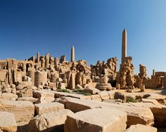 """Temple of Karnak   """"Karnak is like a theme park of ancient Egyptian religion - in which every god and goddess of that civilization was represented over a period of about 2,000 years"""" Michael Wood BBC History channel"""