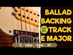 Slow and mellow backing track. Easy chord progression and with chord score. Suggested scales to use are E major scale and C pentatonic scale. E Major, Backing Tracks, Cool Guitar, Cool Words, It Works, Play, Fun, Fin Fun