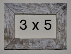 3 x 5 Driftwood Picture Frame 273 by DriftwoodMemories on Etsy, $14.95